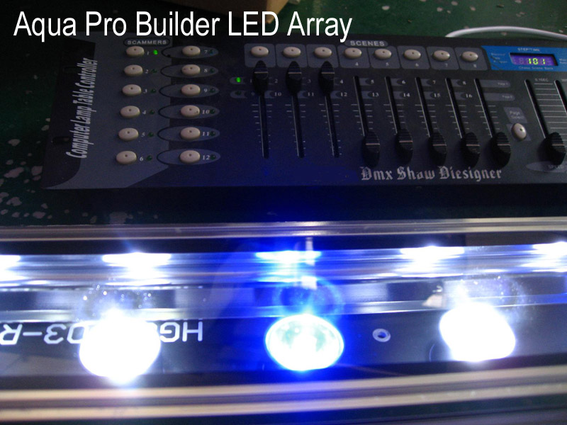 Computer Programmable HIGH Powered LED Array